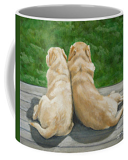 Labrador Lazy Afternoon Coffee Mug