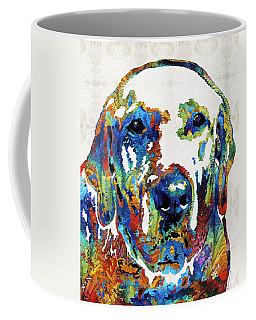 Labrador Retriever Art - Play With Me - By Sharon Cummings Coffee Mug