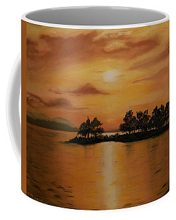 Lac La Biche  Sunset Coffee Mug
