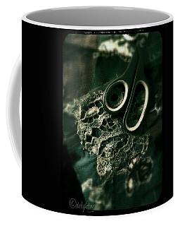 Coffee Mug featuring the digital art Lace by Delight Worthyn