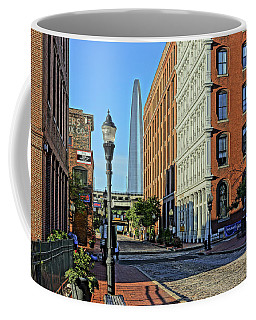 Laclede's Landing Just North Of The Arch Coffee Mug