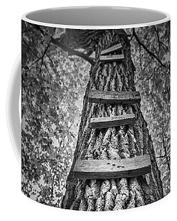 Ladder To The Treehouse Coffee Mug