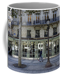 Laderee On The Champs De Elysees In Paris France  Coffee Mug by Richard Rosenshein
