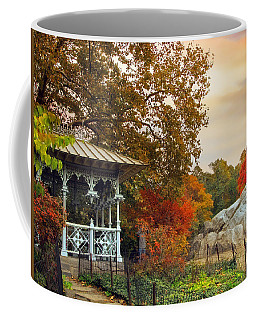 Ladies Pavilion In Autumn Coffee Mug