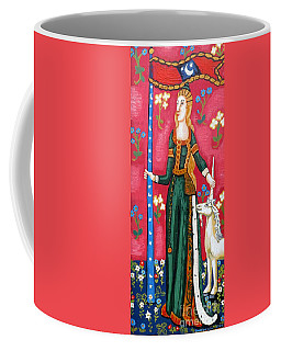Lady And The Unicorn La Pointe Coffee Mug