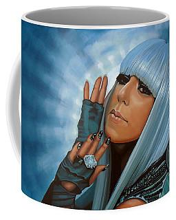 Lady Gaga Painting Coffee Mug