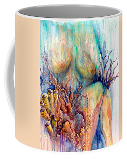 Lady In The Reef Coffee Mug