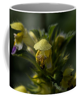 Lady In Yellow Dress Coffee Mug by Leif Sohlman
