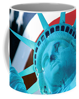 Lady Liberty  Coffee Mug by Jerry Fornarotto
