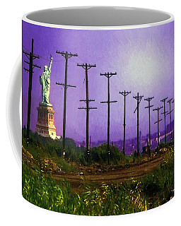 Lady Liberty Lost Coffee Mug