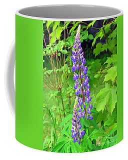 Lady Lupine Coffee Mug