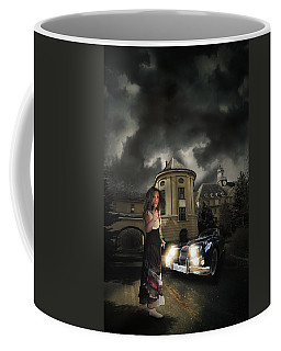 Lady Of The Night Coffee Mug by Nathan Wright