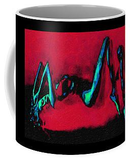 Lady On Red Coffee Mug