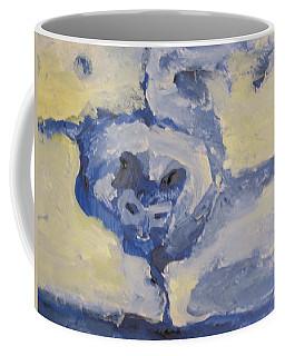 Lady On The Coach  Coffee Mug
