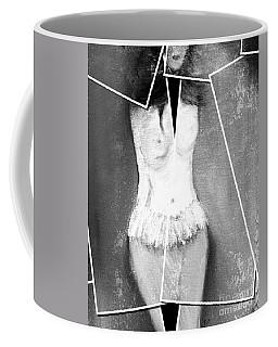 Coffee Mug featuring the digital art Lady by Ann Calvo