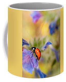 Ladybird Coffee Mug by Meir Ezrachi