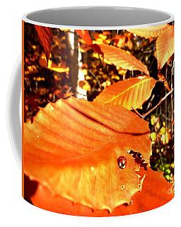 Ladybug At Fall Coffee Mug