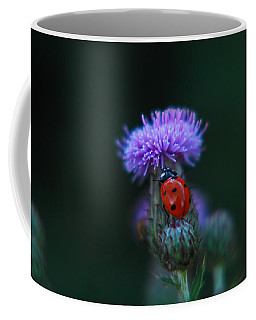 Ladybug Coffee Mug by Jeff Swan