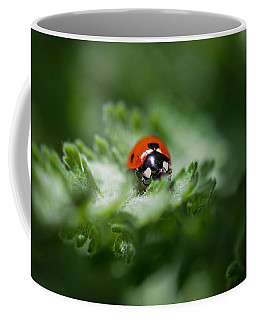 Ladybug On The Move Coffee Mug