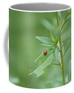 Ladybug On The Move Coffee Mug