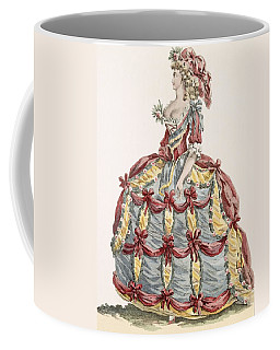 Ladys Gown For Cour A Leiquette Coffee Mug