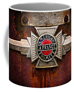 Coffee Mug featuring the photograph Lafrance Badge by Mary Jo Allen