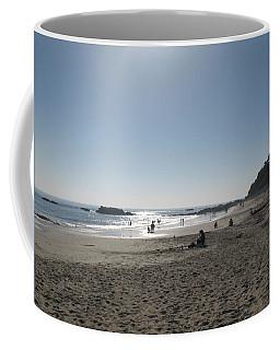 Laguna Beach Afternoon Coffee Mug by Connie Fox
