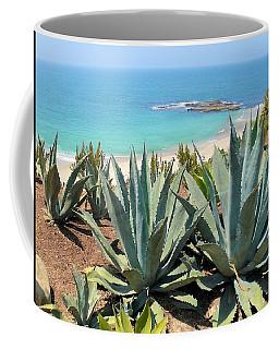 Laguna Coast With Cactus Coffee Mug