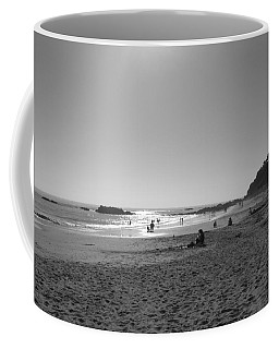 Coffee Mug featuring the photograph Laguna Sunset Reflection by Connie Fox