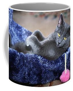 Laid Back Coffee Mug by Sally Weigand