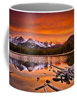 Lake Bierstadt In The Morn Coffee Mug by Steven Reed