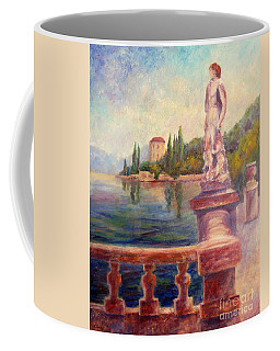 Lake Como View Coffee Mug