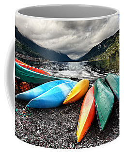 Lake Crescent Kayaks Coffee Mug