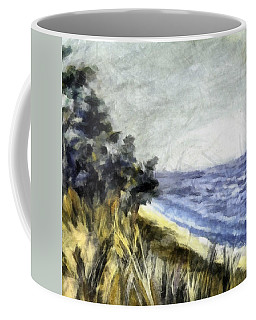 Lake From The Dunes Coffee Mug