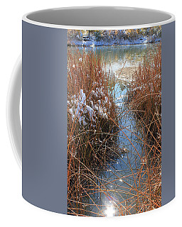 Coffee Mug featuring the photograph Lake Glitter by Diane Alexander