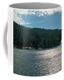 Scenic Lake Photography In Crestline California At Lake Gregory Coffee Mug