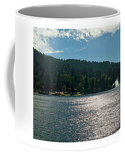 Scenic Lake Photography In Crestline California At Lake Gregory Coffee Mug