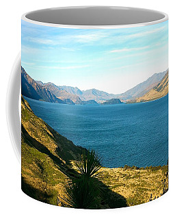 Coffee Mug featuring the photograph Lake Hawea by Stuart Litoff