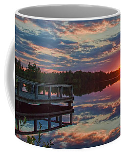 Lake Horicon Sunset 1 Coffee Mug