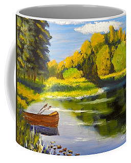 Lake Illawarra At Primbee Coffee Mug