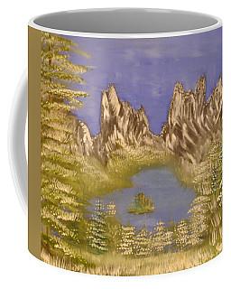 Lake In Glacier Coffee Mug