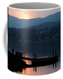 Lake J Sunset Coffee Mug