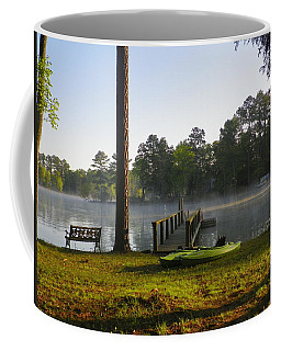Coffee Mug featuring the photograph Lake Life by Lisa Wooten