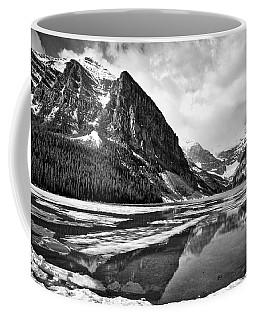 Lake Louise - Black And White #3 Coffee Mug