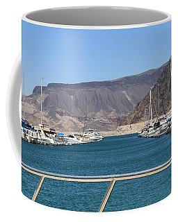 Lake Mead From The Marina Coffee Mug