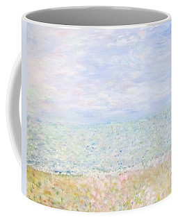 Lake Michigan At Oak St Bch Chicago Coffee Mug