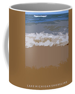 Lake Michigan Shoreline Coffee Mug