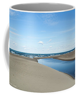 Lake Michigan Waterway  Coffee Mug