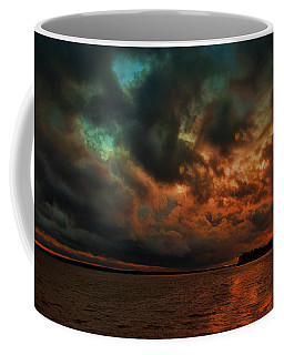 Lake Murray Fire Sky Coffee Mug