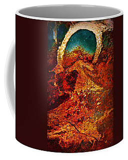 Lake Of Lava Coffee Mug by Leanna Lomanski